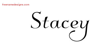Elegant Name Tattoo Designs Stacey Download Free