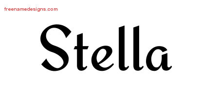 stella Archives - Free Name Designs