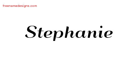 stephanie Archives Free Name Designs