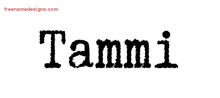 Typewriter Name Tattoo Designs Tammi Free Download