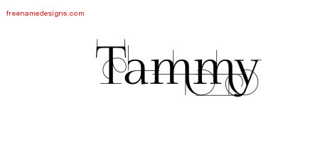 Decorated Name Tattoo Designs Tammy Free Free Name Designs I think adding cross tattoo to nay tattoo design just improve its look. free name designs
