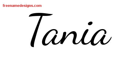 tania Archives - Page 2 of 2 - Free Name Designs