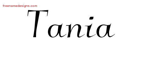tania Archives - Free Name Designs