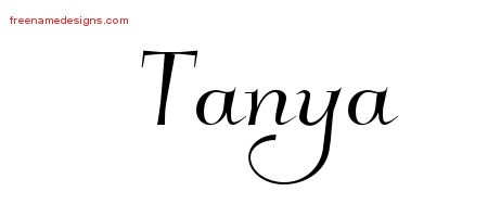 tanya Archives - Free Name Designs