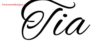 Tia Archives Free Name Designs