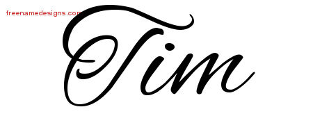 Tim Archives Free Name Designs