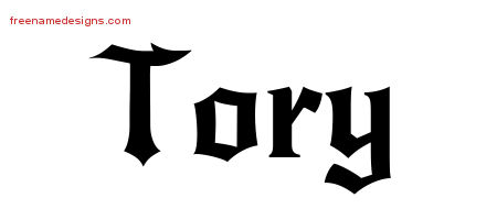 Gothic Name Tattoo Designs Tory Download Free