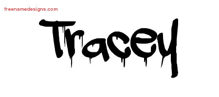 Graffiti Name Tattoo Designs Tracey Free Lettering