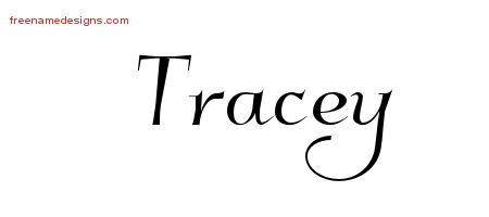 Elegant Name Tattoo Designs Tracey Download Free
