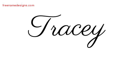 Classic Name Tattoo Designs Tracey Printable