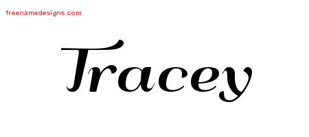 Art Deco Name Tattoo Designs Tracey Printable