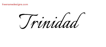 Calligraphic Name Tattoo Designs Trinidad Download Free