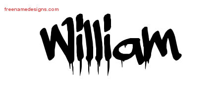Graffiti Name Tattoo Designs William Free Lettering