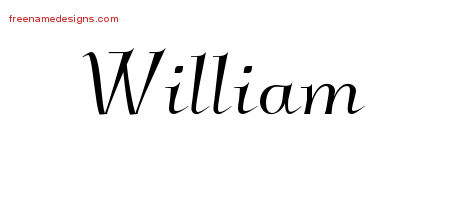 Elegant Name Tattoo Designs William Download Free