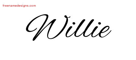 Cursive Name Tattoo Designs Willie Download Free