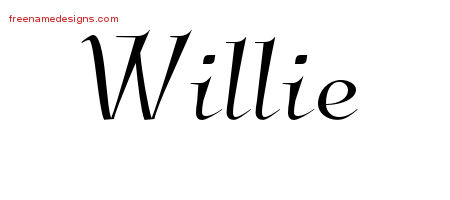 Elegant Name Tattoo Designs Willie Download Free
